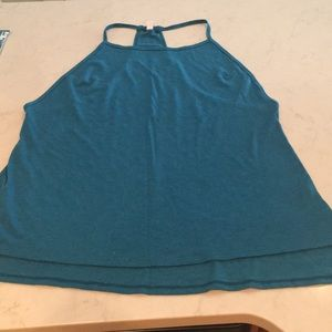 Lucy Size XL teal tank